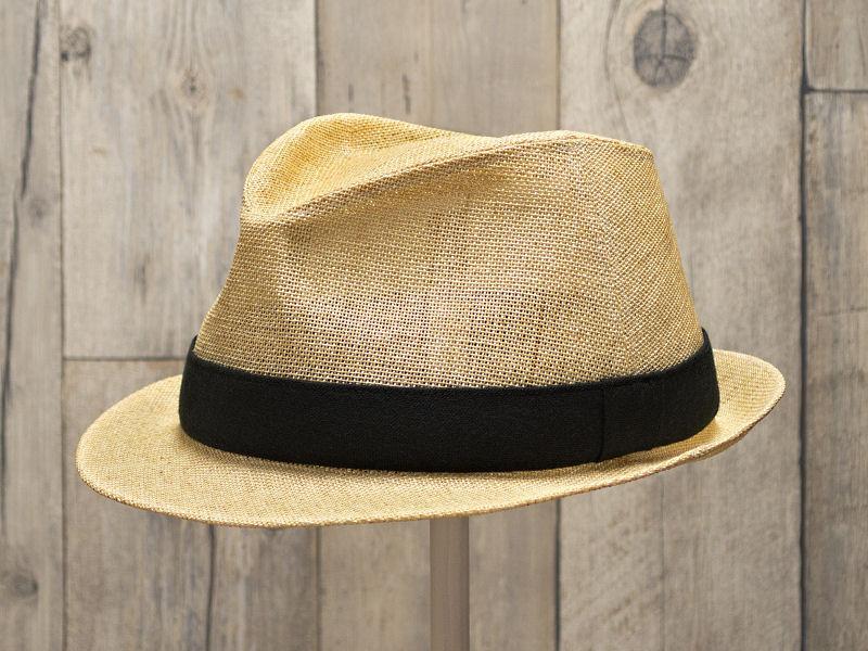 ペーパーナチュラル中折れ帽子