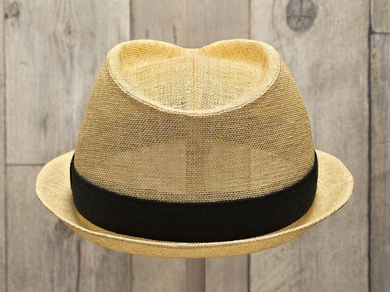 ペーパーナチュラル中折れ帽子3