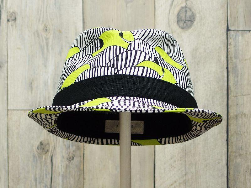 シマウマ中折れ帽子2