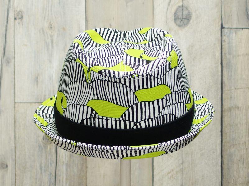 シマウマ中折れ帽子3