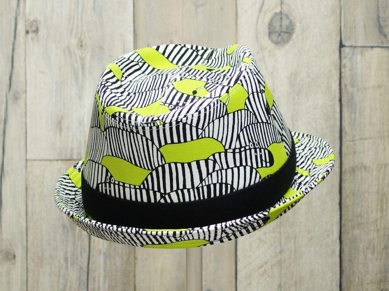 シマウマ中折れ帽子7