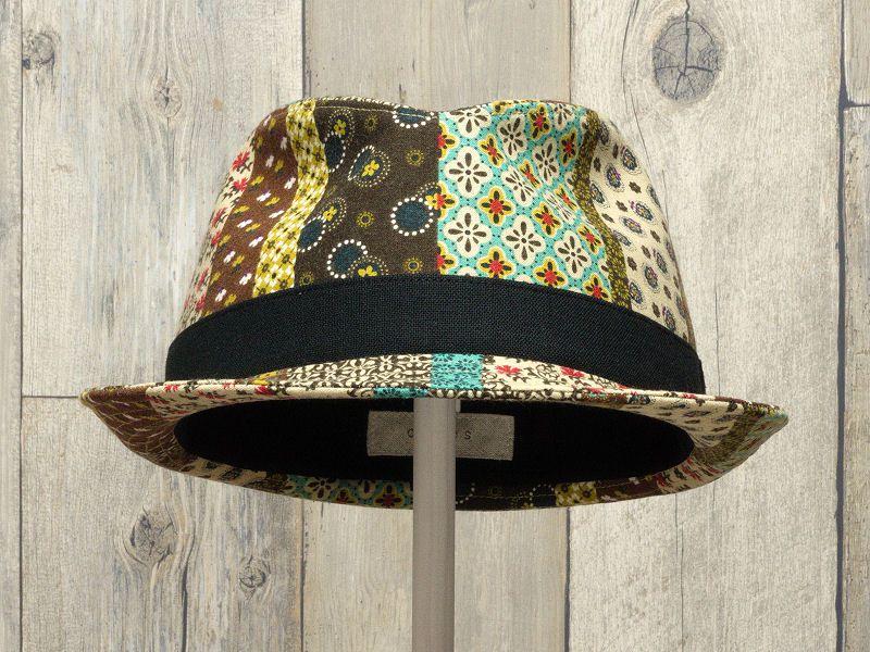 エスニック中折れ帽子2
