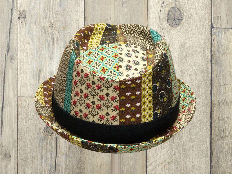 エスニック中折れ帽子3
