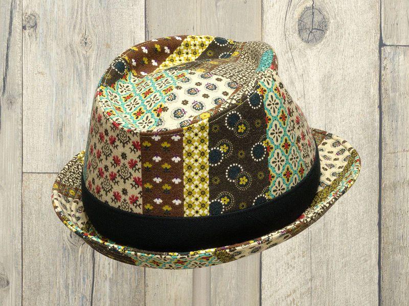 エスニック中折れ帽子6
