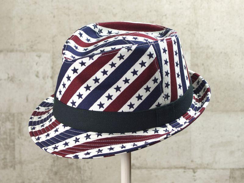スパイラル中折れ帽子