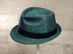 うずまき中折れ帽子
