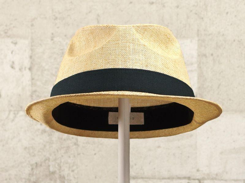 ナチュラルペーパー中折れ帽子2