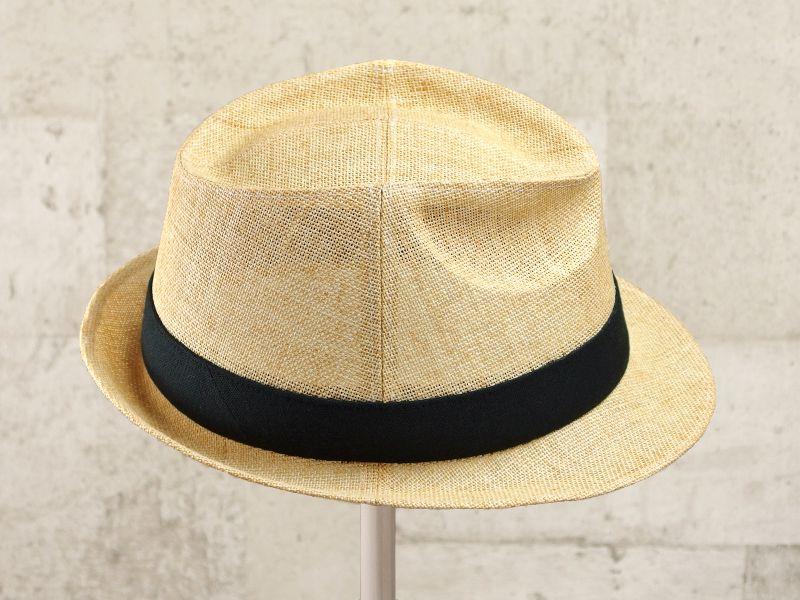 ナチュラルペーパー中折れ帽子4