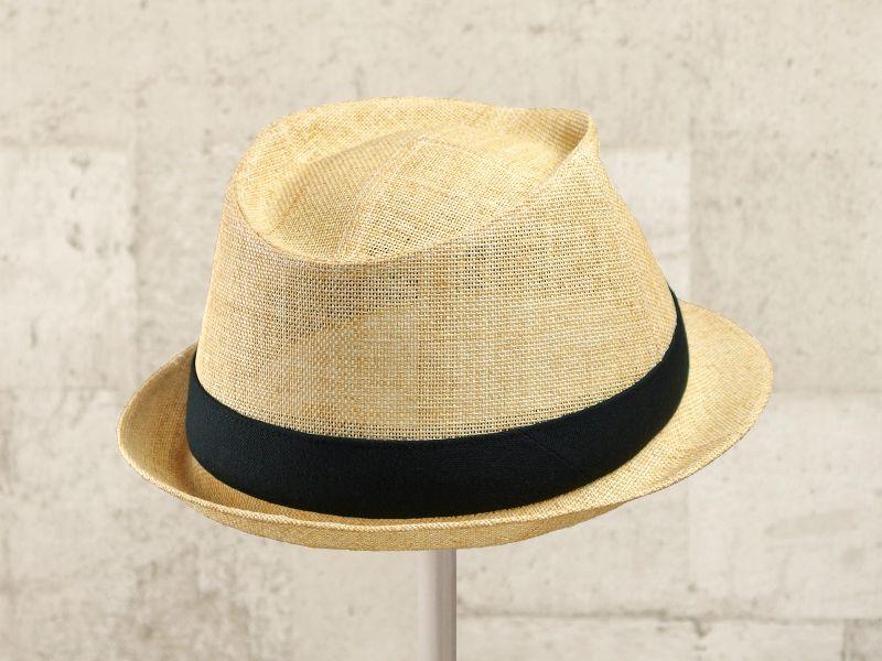 ナチュラルペーパー中折れ帽子7