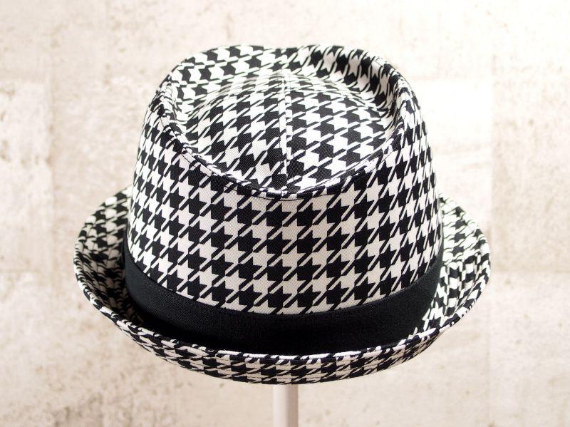 千鳥中折れ帽子3