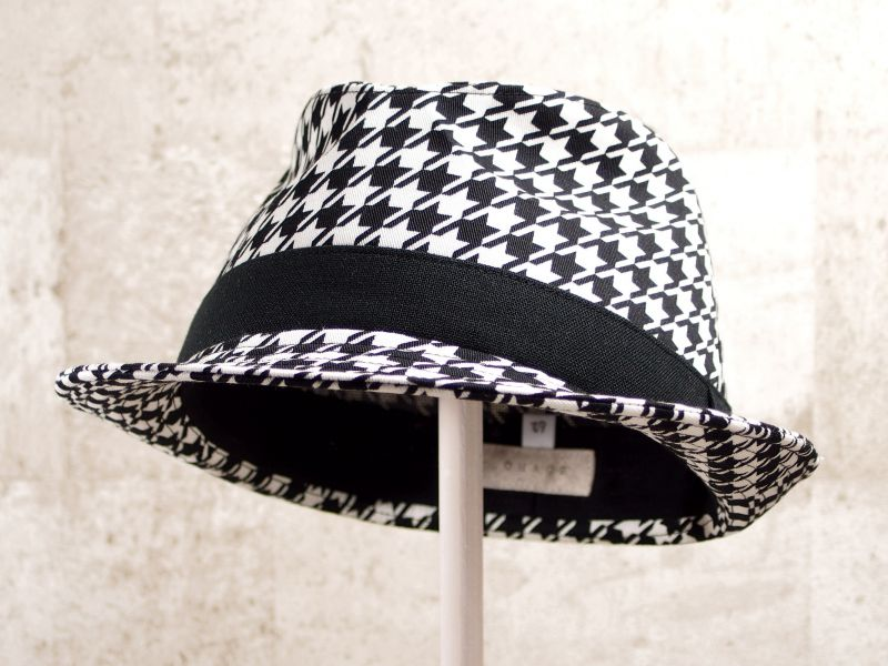 千鳥中折れ帽子6