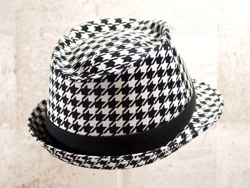 千鳥中折れ帽子7