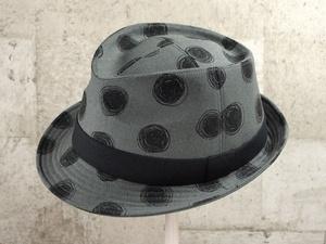 ビックドット中折れ帽子