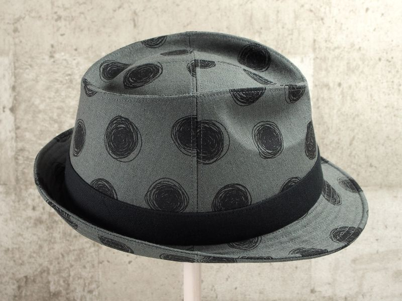ビックドット中折れ帽子4