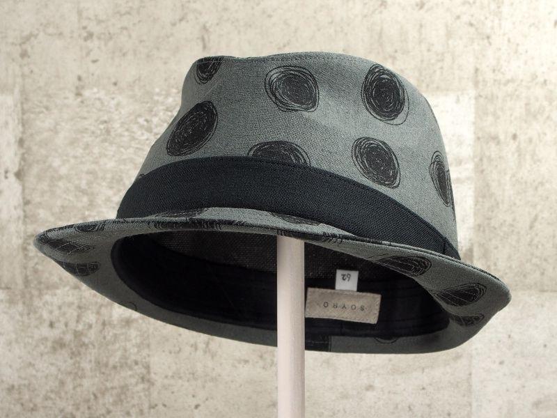 ビックドット中折れ帽子6
