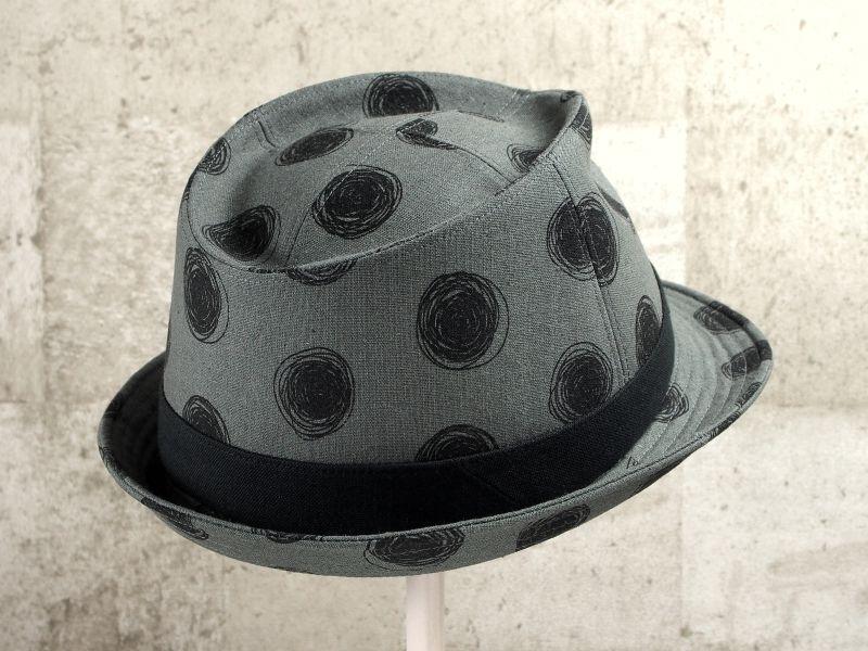 ビックドット中折れ帽子7