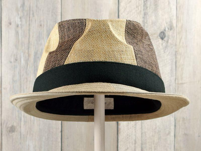アシンメトリー中折れ帽子2