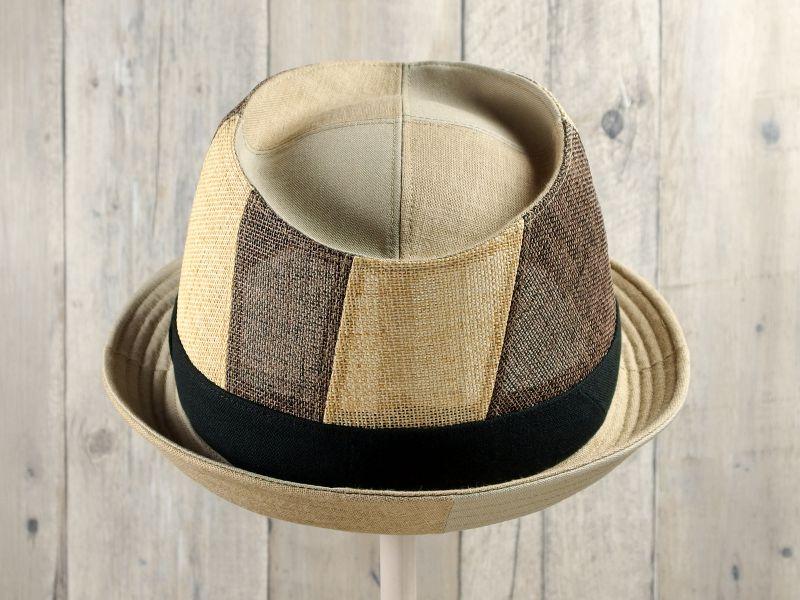 アシンメトリー中折れ帽子3