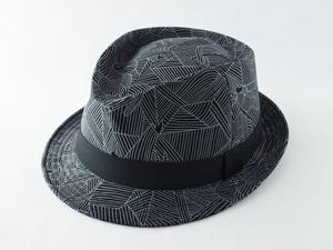 だまし絵中折れ帽子