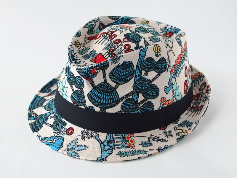 アジアン中折れ帽子