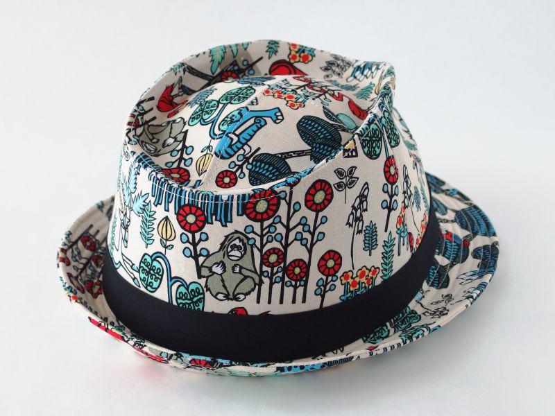 アジアン中折れ帽子2