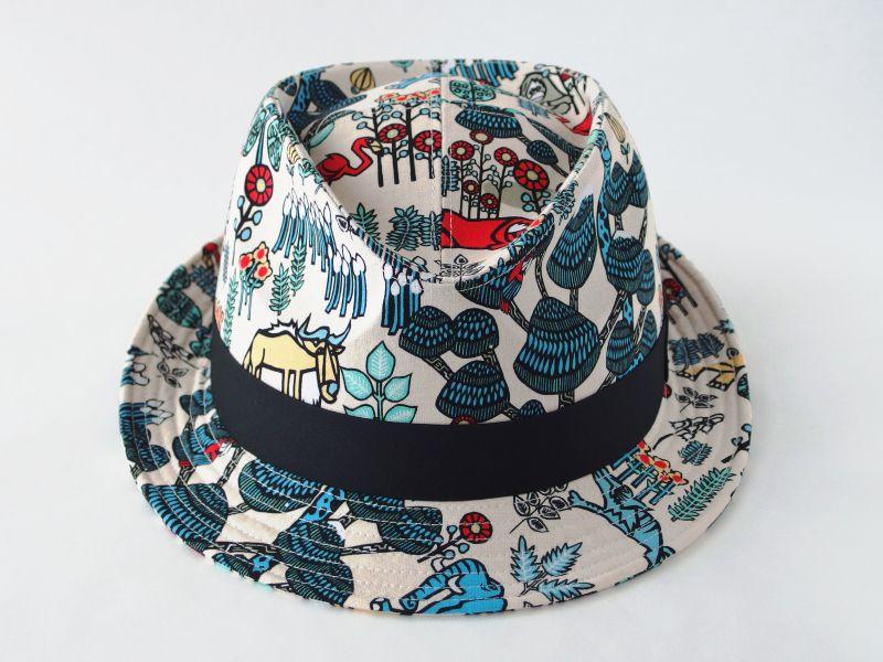 アジアン中折れ帽子3