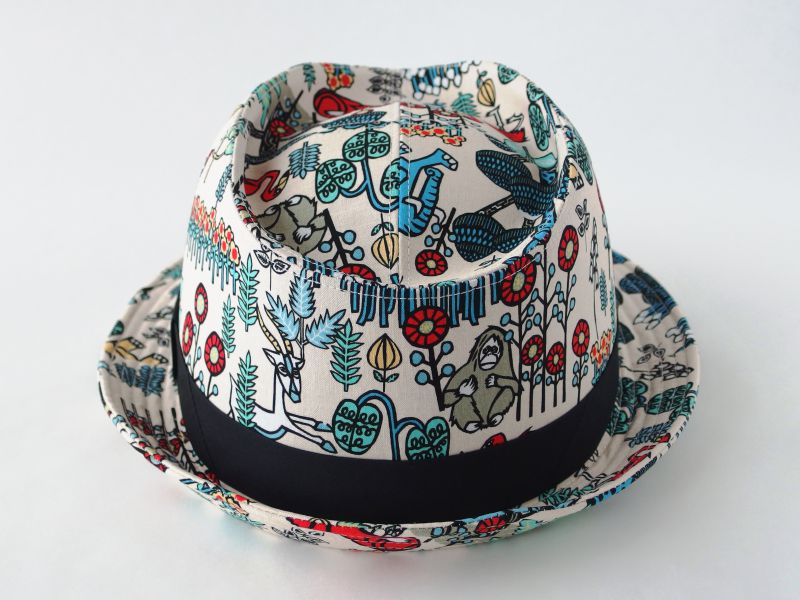 アジアン中折れ帽子4