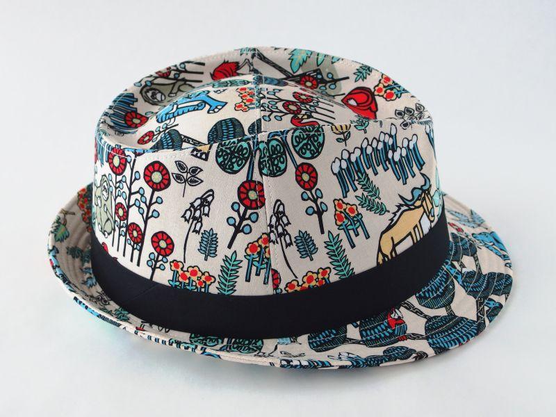 アジアン中折れ帽子5