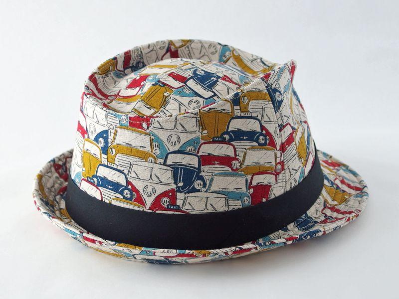 レトロカー中折れ帽子2