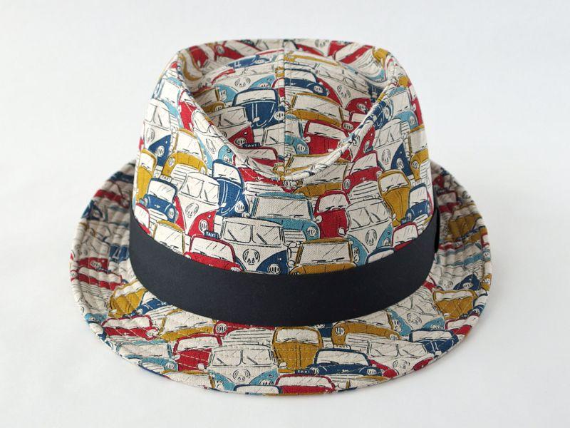 レトロカー中折れ帽子3