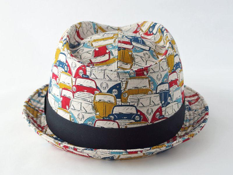 レトロカー中折れ帽子4