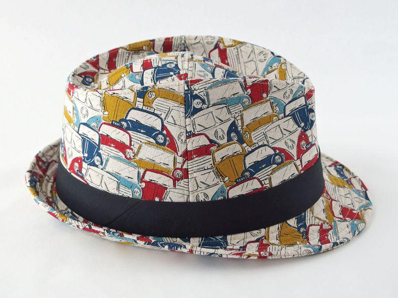レトロカー中折れ帽子5