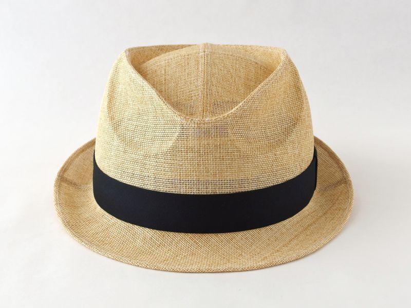 ペーパークロスナチュラル中折れ帽子2